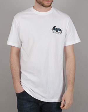 Santa Cruz Natas Panther T-Shirt - White