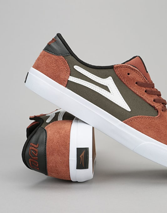 Lakai Pico Skate Shoes - Copper Suede