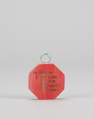 Long Live Southbank Octagon Pendant - Red