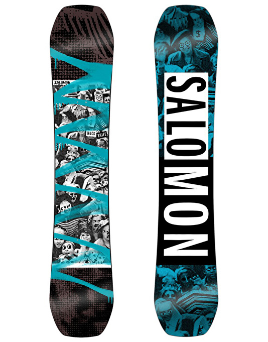 Salomon Huck Knife 2017 Snowboard - 155