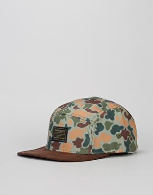 Element Elder 5 Panel Cap - Jungle Camo