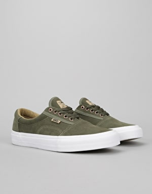 Vans Rowley Solos Pro Skate Shoes - Grape Leaf/Khaki/White