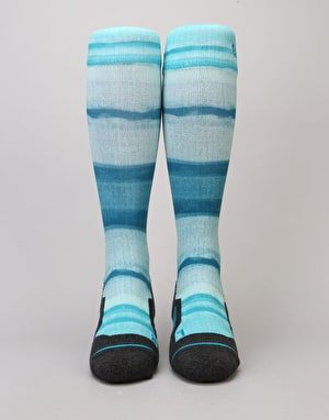Stance Lakeridge 2017 Snowboard Socks - Blue
