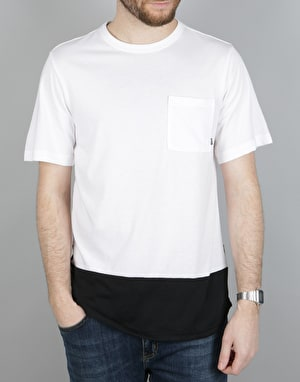Nike SB Dry T-Shirt - White/Black