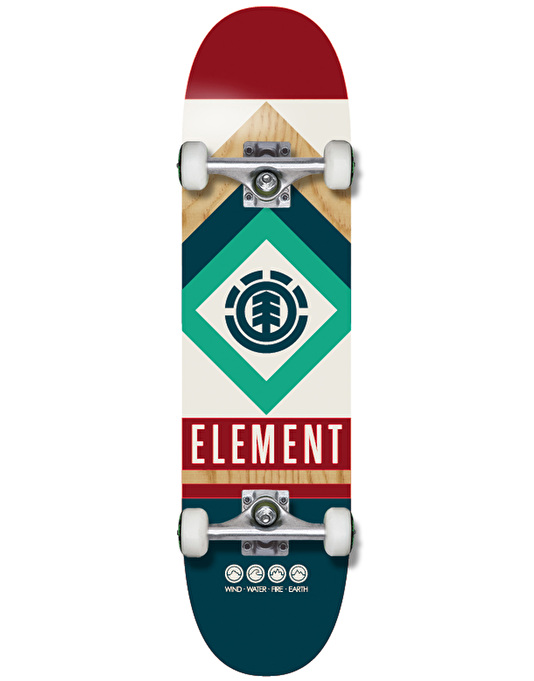 Element Nautical Complete Skateboard - 7.75""