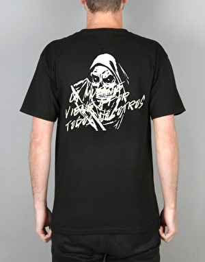 Route One Ruta Uno Reaper T-Shirt  - Black