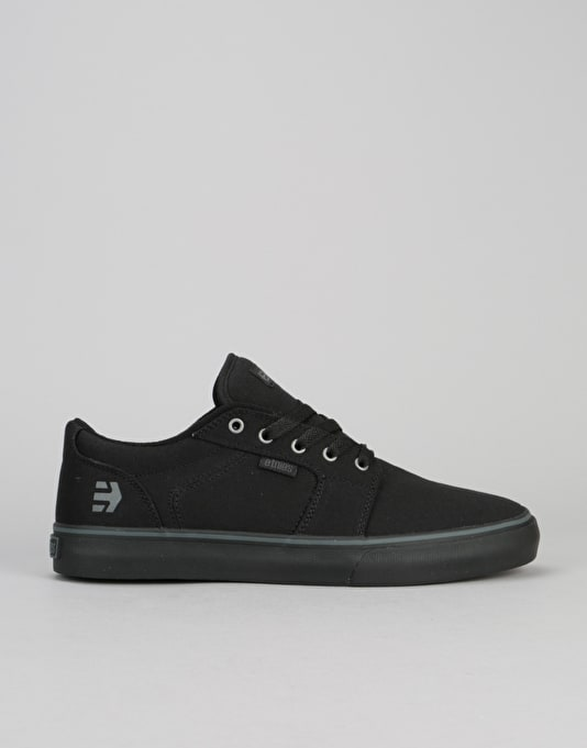 Etnies Barge LS Skate Shoes - Black/Black/Gum