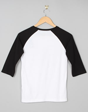 DC Creed Boys Raglan T-Shirt - Black/White