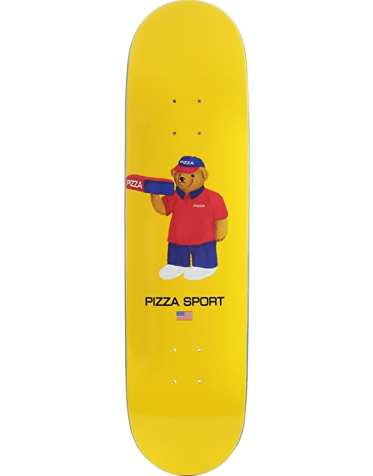Pizza Bear Team Deck - 8.25""