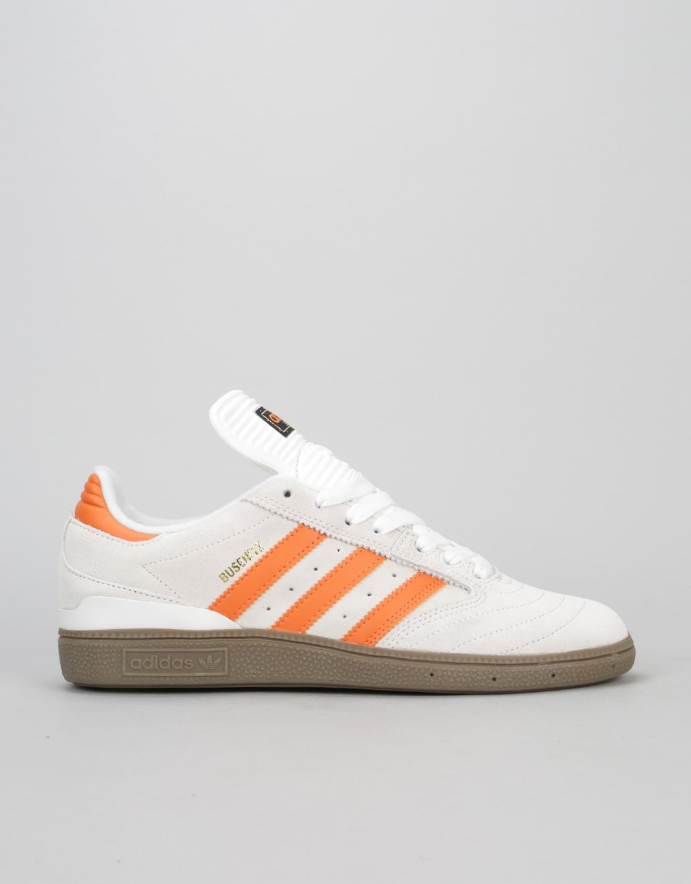 check out 7e02f e69e6 Adidas Busenitz Skate Shoes - Crystal WhiteCraft OrangeGum  Skate Shoes   Mens Skateboarding Trainers  Footwear  Route One