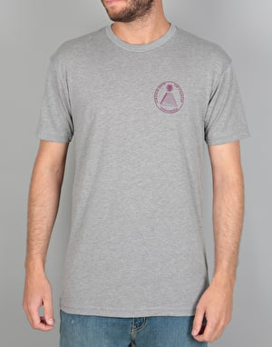 Theories Chaos T-Shirt - Heather Grey/Wine