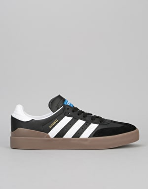 Adidas Busenitz Vulc RX Skate Shoes - Core Black/Ftwr White/Gum