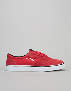 Lakai Fura Skate Shoes - Red Suede