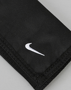 Nike Basic Tri-Fold Wallet - Black