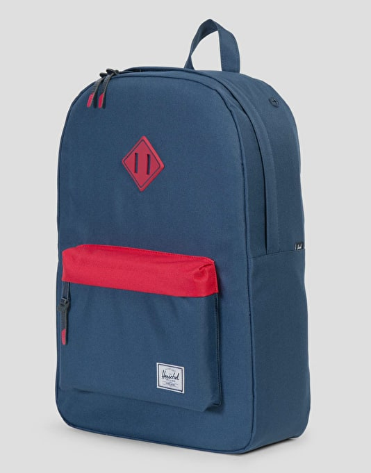 Herschel Supply Co. Heritage Backpack - Navy/Red