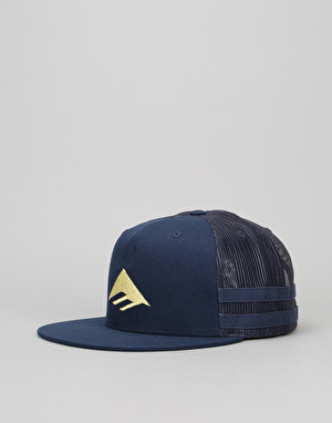 Emerica Triangle Trucker Cap - Blue