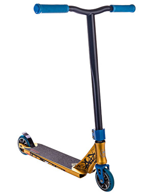 Crisp Inception 2016 Scooter - Gold Anodised/Blue Metallic