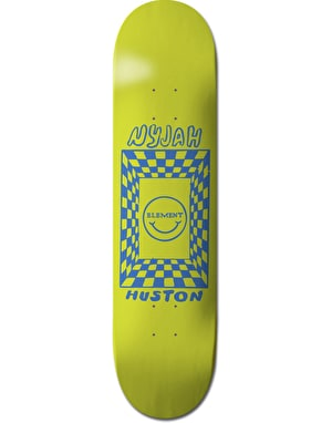 Element Nyjah Black Light Featherlight Pro Deck - 8