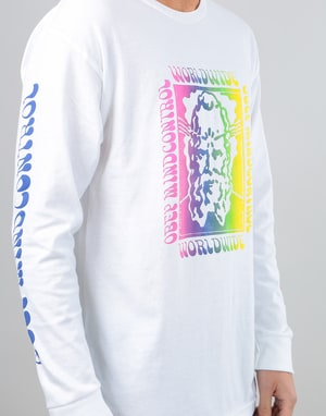Obey Mindful L/S T-Shirt - White