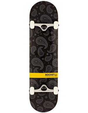 Rocket Paisley Distinct Series Complete Skateboard - 8