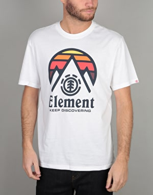 Element Cliff T-Shirt - Optic White