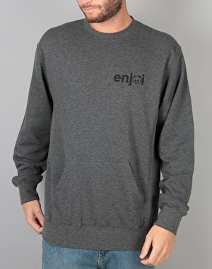 Enjoi Pouch Crew - Charcoal Heather