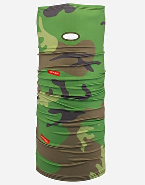 Airhole Airtube Drylite Facemask - Woodland Camo