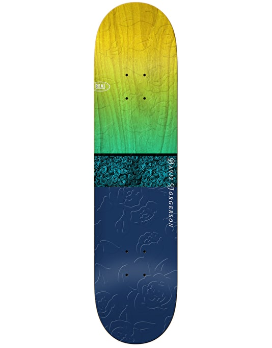 Real Davis Roses Skateboard Deck - 8.06""
