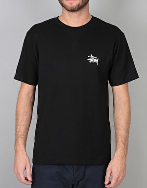 Stüssy Basic Stüssy T-Shirt - Black