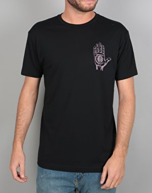 Theories Mystic Advisor T-Shirt - Black/Lavender
