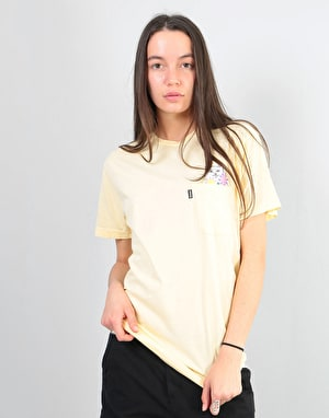 RIPNDIP Womens Nermcasso Oversized T-Shirt - Yellow