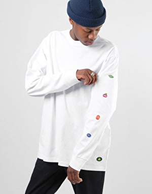 Element YAWYE L/S T-Shirt - Optic White