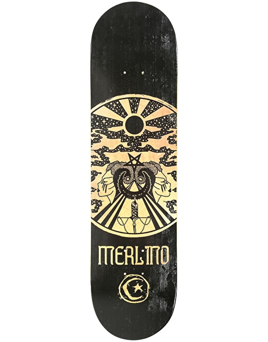 """Foundation Merlino Made By The Moon Skateboard Deck - 8"""""""