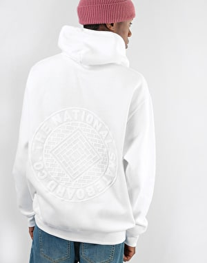 The National Skateboard Co. Classic Pullover Hoodie - White