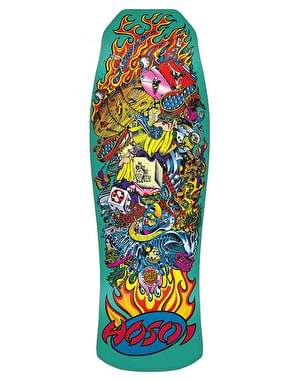 Santa Cruz Hosoi Collage Reissue Pro Deck - 10