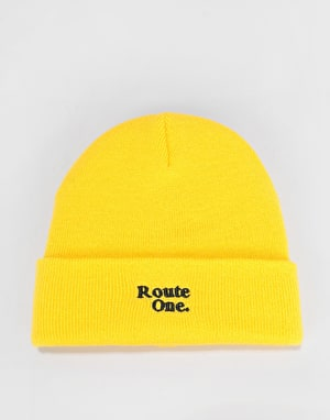 Route One Bambi Beanie - Yellow