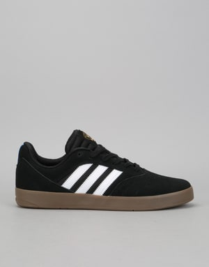 Adidas Suciu ADV II Skate Shoes - Core Black/White/Gum