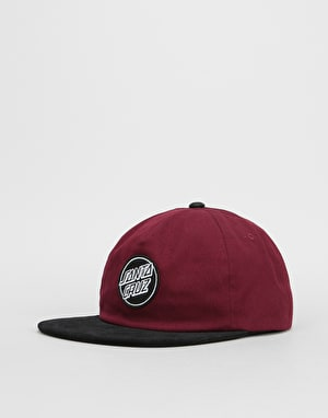 Santa Cruz Lot Cap - Blood/Black