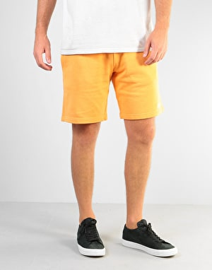 RIPNDIP Peek A Nerm Over Dye Sweatshorts - Orange