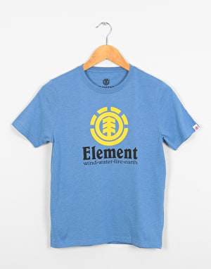 Element Vertical  Boys T-Shirt - Niagara Heather