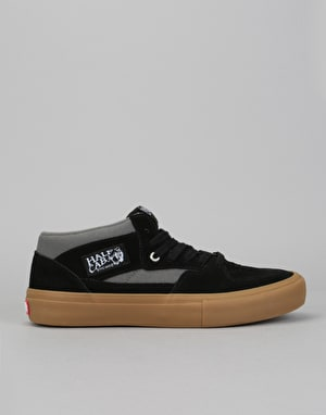 Vans Half Cab Pro Skate Shoes - Black/Pewter/Gum