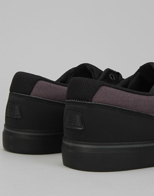 DC Switch S Skate Shoes - Black/Black