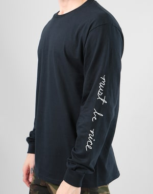 RIPNDIP Romantic Nerm L/S T-Shirt - Black