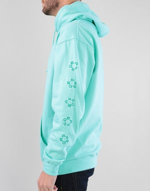Route One In Bloom Pullover Hoodie - Peppermint