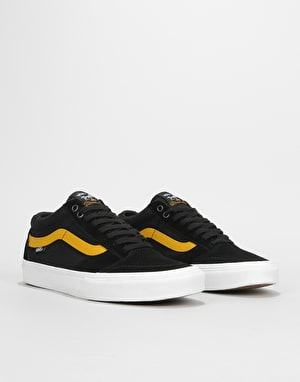 Vans TNT SG Skate Shoes - Black/Tawny Olive
