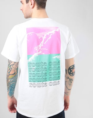 Route One Haze T-Shirt - White