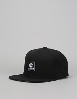 Element State Snapback Cap - Original Black