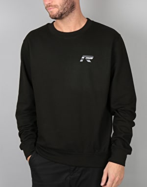 Route One Futuristic Sweatshirt - Black