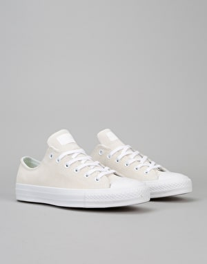 Converse CTAS Pro Ox Skate Shoes - White/Petrol Teal
