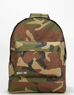 Route One Backpack - Camo